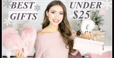 BEST CHRISTMAS GIFTS FOR HER UNDER 25 HOLIDAY GIFT
