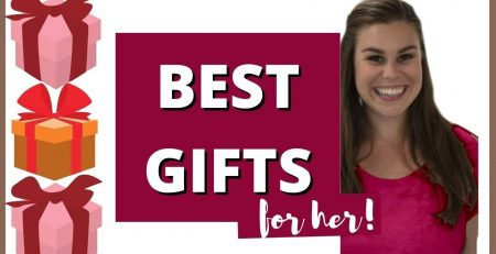 CHRISTMAS GIFT GUIDE FOR HER 2020 BEST GIFTS FOR