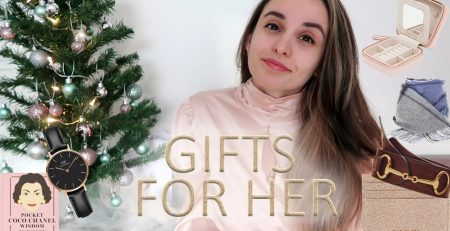 Christmas gift guide FOR HER 2020 All Budgets