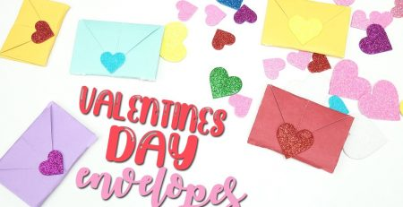 DIY Valentines Day Envelopes Craft Tutorial Card Gift Ideas for