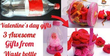 DIY Valentines day gift for himher DIY Flower basket