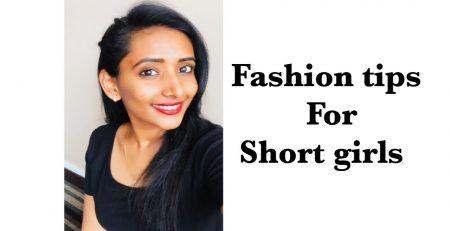 Fashion tips for short girls in Telugu poojitha reddy