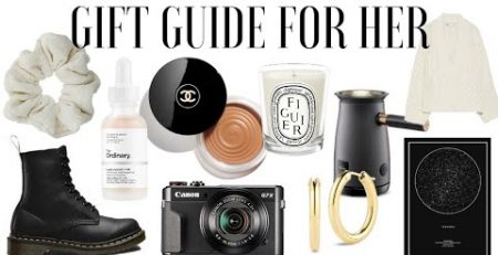 GIFT GUIDE FOR HER Christmas 2020