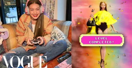 Gigi Hadids Fantasy Fashion Video Game Vogue