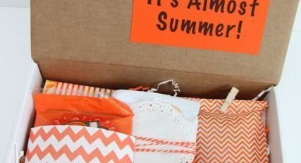 Happy Mail Orange You Glad Its Almost Summer Gift Idea