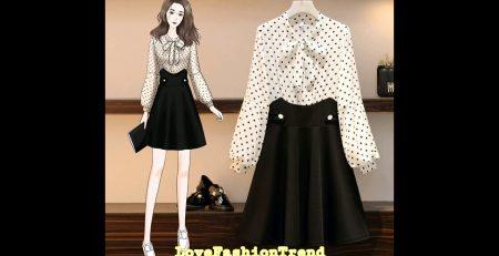KOREAN LADIES DRESS TRENDING STYLE amp IDEAS 2021 I FASHION