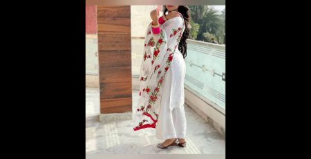 Latest White Colour Dress Design IdeaWhite Colour Combination ideaFashion Tips