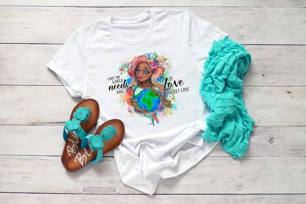 Love Sweet Love Mother Earth TShirt2