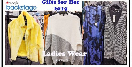 MACY39S BACKSTAGE AW Ladies Wear 2019 Holiday Gift Guide
