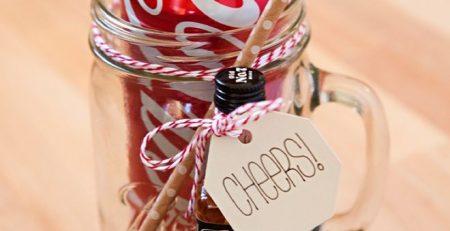 Make These XL Mason Jar Cocktail Gifts