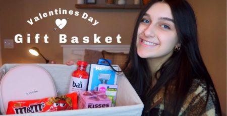 Making a Valentine39s Day Gift Basket for my Boyfriend