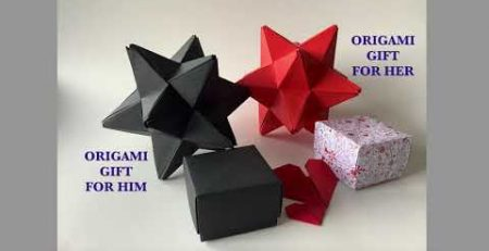 Modular Origami Valentine39s Day Gift Ideas Gift for HER