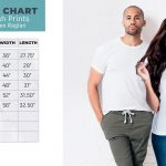 Plush Prints Sublimation Shirt Size Chart