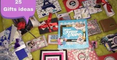She surprised her husband with 25 gifts 25 gift ideas
