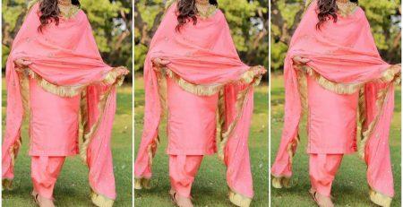 Simple And Gorgeous Punjabi Suit Design collection Designer Suits