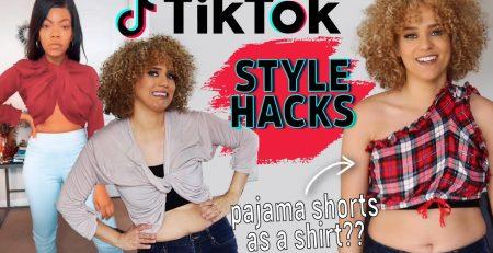 TESTING TIKTOK STYLE HACKS I Tried Viral Fashion Tips