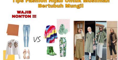 Tips Fashion Hijab Muslimah Bertubuh Pendek Tanty Rahayu