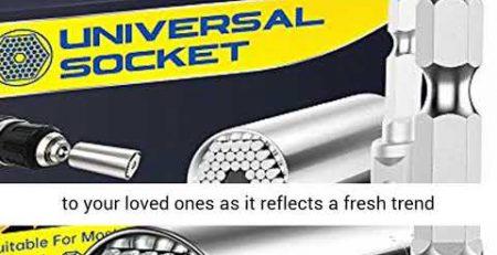 Universal Socket Tools Gifts for Men Dad Socket Set