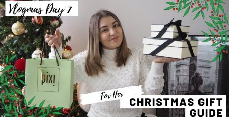 VLOGMAS DAY 7 Gift Guide For HER