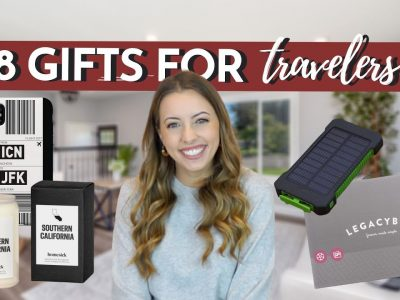 18 BEST Christmas Gifts for TRAVELERS Holiday Gift Guide 2020