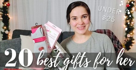 20 BEST CHRISTMAS GIFTS FOR HER UNDER 25 CHRISTMAS