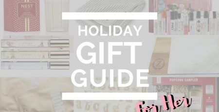 2017 Holiday Gift Guide For Her Over 10 Unique