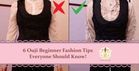 6 Ouji Fashion Beginner tips everyone should know