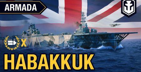 Armada Aircraft carrier Habakkuk World of Warships guide