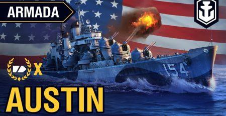 Armada Cruiser Austin World of Warships guide
