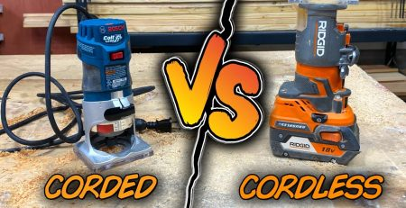 Cordless vs Corded Palm Router Challenge amp GIVEAWAY