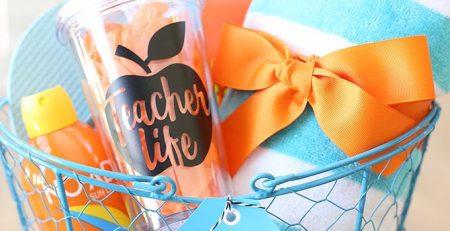 Craft Keep Calm Summer Teacher Gift Idea See Vanessa