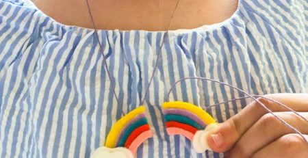 Craft a Rainbow BFF Necklace