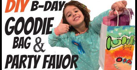 Custom Birthday Party FAVORS amp GOODIE BAGS Girls Birthday