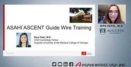 Dr Ripa Patel presents her experience at Asahi39s ASCENT Guide