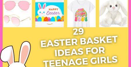 Easter Baskets for Teenage Girl Easter Basket Ideas 2021 Easter