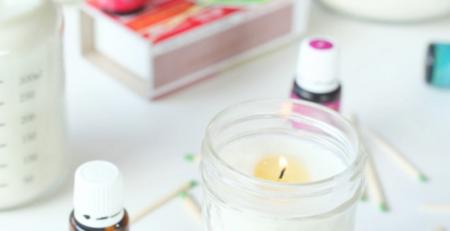 Easy DIY Essential Oil Candles