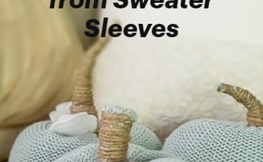 Easy Pumpkins from Sweater Sleeves