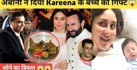 Expensive Gifts For Kareena Kapoor39s 2nd Baby Boy Ambani