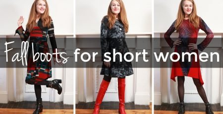 Fall boots for short women style tips for short