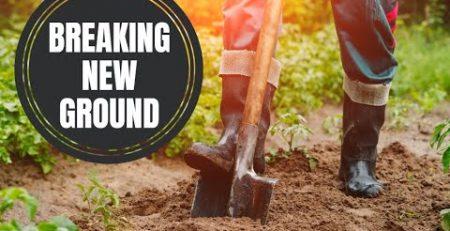 Free Gift of Holy Spirit Breaking New Ground