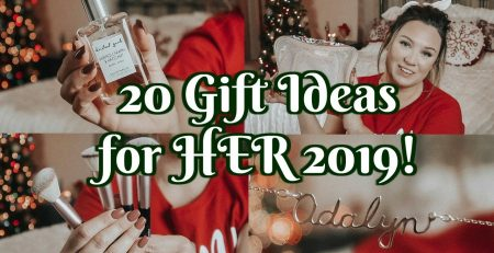 GIFT GUIDE FOR HER 2019 travel beauty personalization amp more