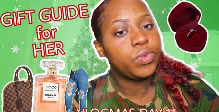 GIFT GUIDE FOR HER vlogmas day 11