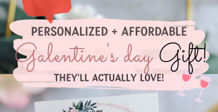 Galentines Day Gift Galentines Day Card Ideas Personalized
