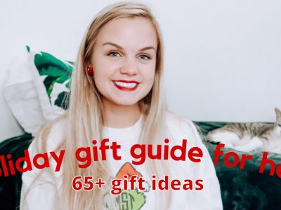 HOLIDAY GIFT GUIDE FOR HER 2020 65 gift ideas