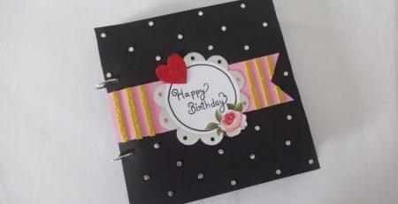 How To Make Handmade Scrapbook For Birthday Scrapbook Tutorial Gift