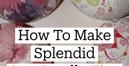 How To Make Splendid Soy Candle Tins