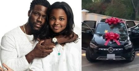 Kevin Hart Give His DAUGHTER Heaven 85000 Mercedes SUV Gift