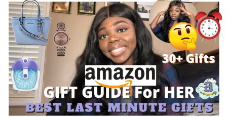LAST MINUTE AMAZON GIFT GUIDE FOR HER CHRISTMAS GIFT