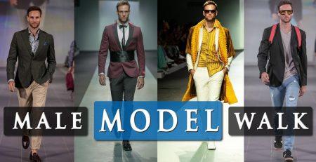 MALE MODEL RUNWAY WALK TUTORIAL Walking tips at fashion week