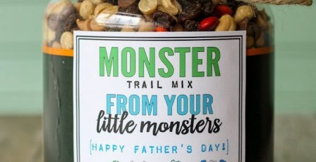Monster Trail Mix Fathers Day Gift – Lets DIY It